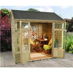 8 x 6 Poppy Summerhouse - ASSEMBLED