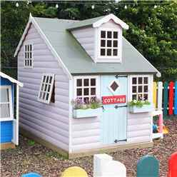 6 x 8 (2.39m x 1.79m) - Cottage Playhouse - 12mm Tongue and Groove