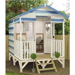 8 x 10 Beach Hut Summerhouse (12mm Tongue and Groove Floor and Roof)