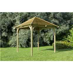 10 x 10 Venetian Pavilion Without Decking