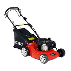 Self Propelled Petrol Rotary Lawnmower - 46cm - Cobra M46SPB - Free Oil and Free Next Day Delivery*