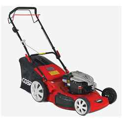 Petrol 4 in 1 Rotary Self Propelled Lawnmower - 56cm - Cobra M56SPB - Free Oil and Free Next Day Delivery*