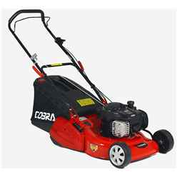 Rear Roller Rotary Push Lawnmower - 46cm - Cobra Rm46b - Free Next Day Delivery*