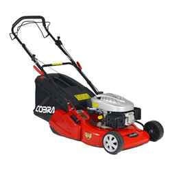 Rear Roller Rotary Self Propelled Lawnmower - 46cm - Cobra RM46SPC - Free Oil and Free Next Day Delivery*