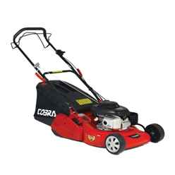 Honda Powered Self Propelled Rear Roller Rotary Lawnmower - 46cm - Cobra Rm46sph - Free Next Day Delivery*