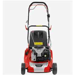 Petrol Powered Ready Start Rear Roller Lawnmower - 40cm - Cobra Rm46spbr - Free Next Day Delivery*