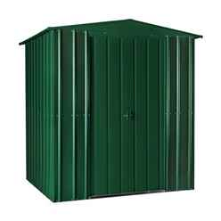 6 x 6 Apex Heritage Green Metal Shed (1.71m x 1.75m)
