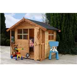 INSTALLED 5 x 5 Wooden Playhouse - INCLUDES INSTALLATION