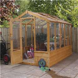 *NEW PRODUCT DUE MID MAY*INSTALLED 6 x 10 Deluxe Glazed Tongue and Groove Greenhouse (No Floor) INCLUDES INSTALLATION