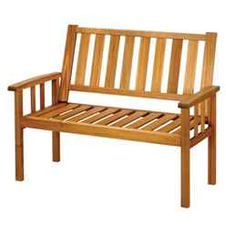 2 Seater - 1 Piece - Homestead Bench - Free Next Working Day Delivery (Mon-Fri)