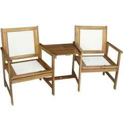 2 Seater - Henley PADDED TEXTYLENE Companion Set  Golden Sand Textylene - Free Next Working Day Delivery (Mon-Fri) )