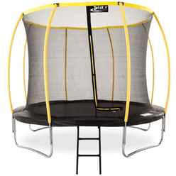 INSTALLED 12ft Orbit Trampoline Including a Enclosure Package and FREE Ladder