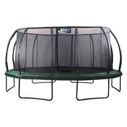14ft x 17ft MK II Deluxe Jump Capsule with Safety Enclosure + FREE Ladder - FREE 48HR DELIVERY*