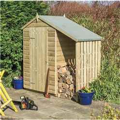 4 x 3 Oxford Shed with Lean To