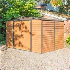 10 x 8 Woodvale Metal Sheds INCLUDES FLOOR (3130mm x 2420mm)