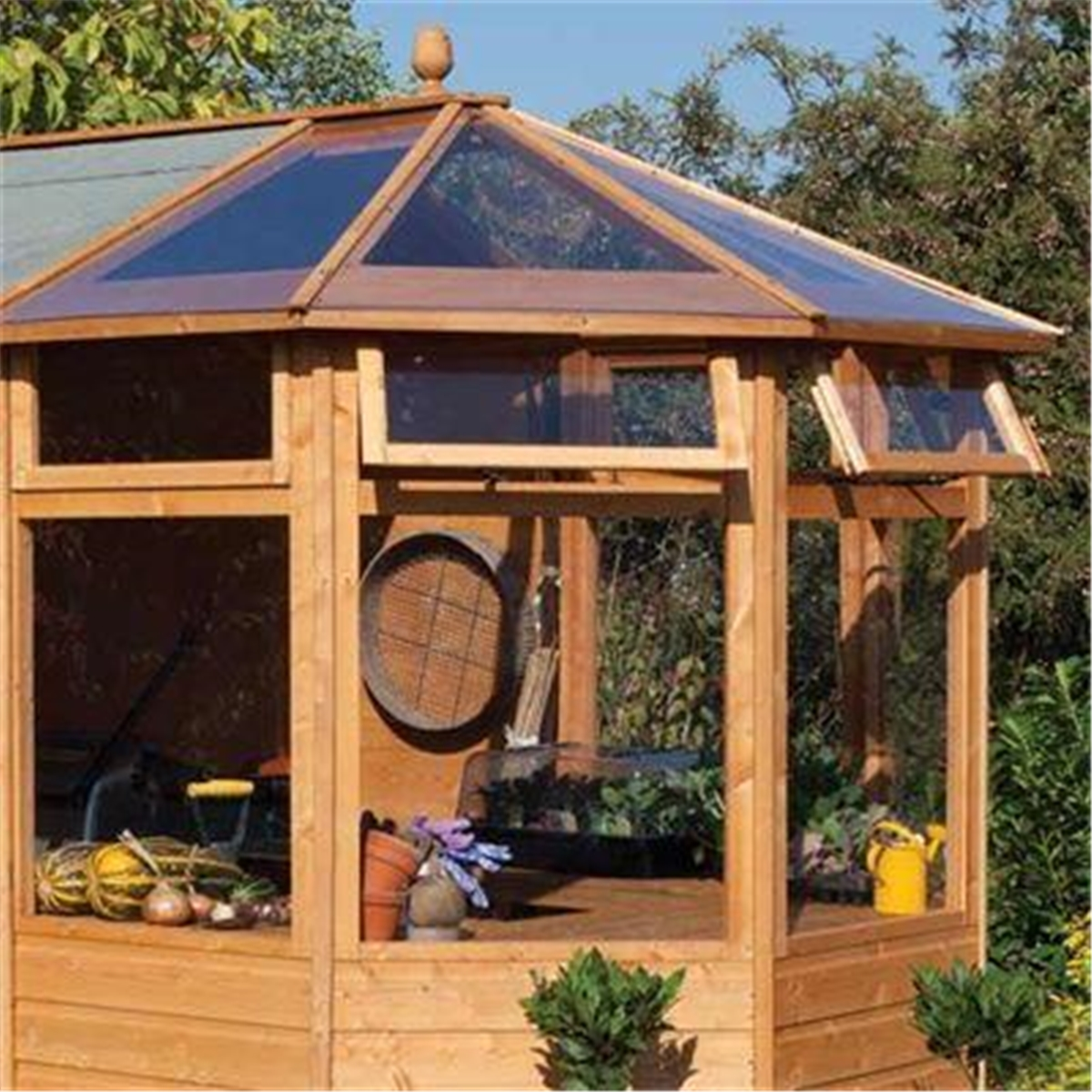10 x 6 potting shed tongue and groove floor shedsfirst for Buy potting shed