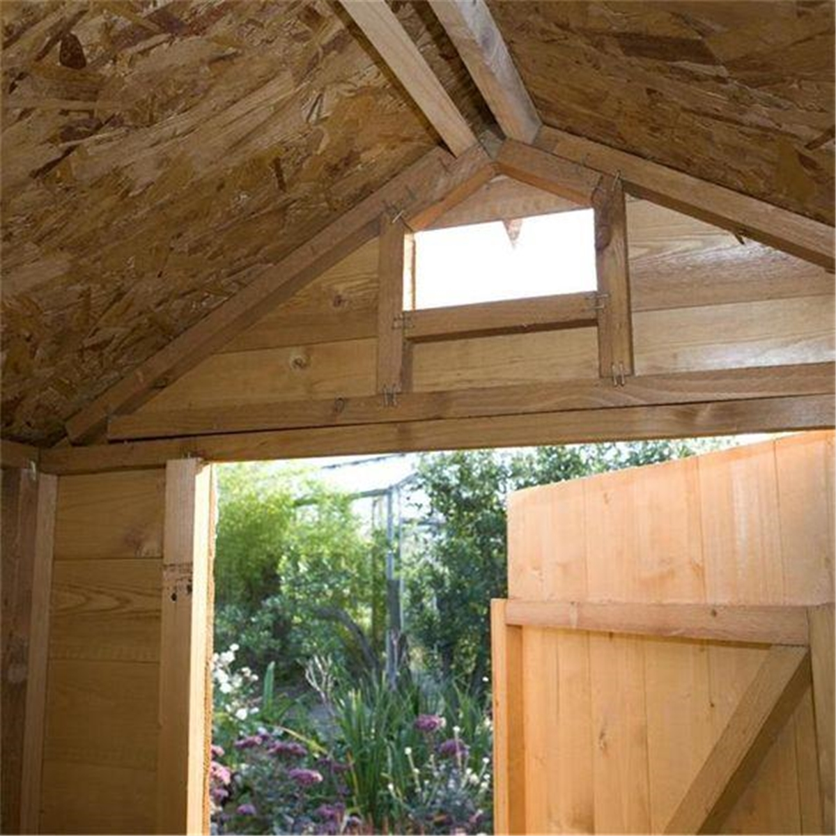 7 X 5 Security Tongue And Groove Shed 12mm Tongue And