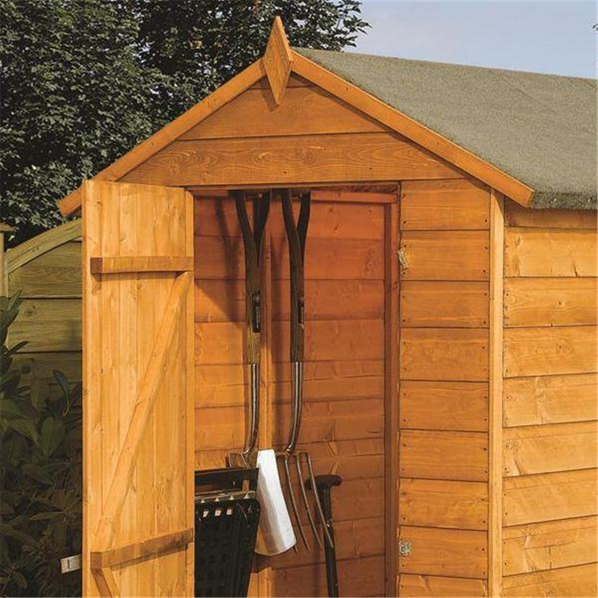 6 X 4 Modular Tongue And Groove Shed 11mm Solid Osb Floor