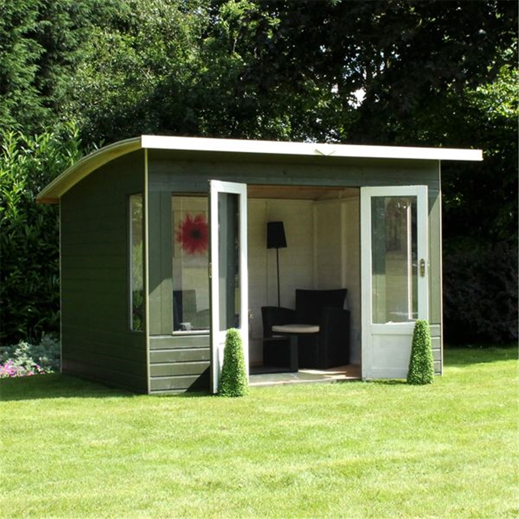 8 X 8 Helios Summerhouse 12mm Tongue And Groove Floor And
