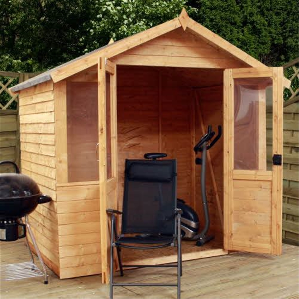 click to enlarge - Garden Sheds 7x5