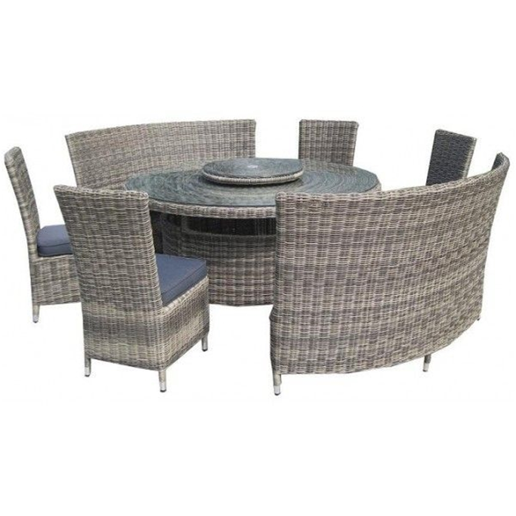 disco1 5 19 8 seater 8 piece wentworth fan bench set. Black Bedroom Furniture Sets. Home Design Ideas