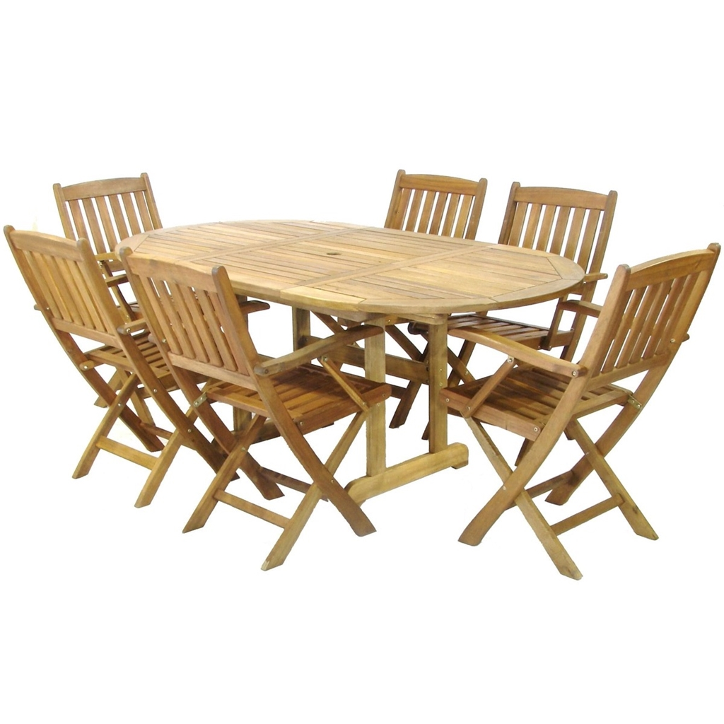 6 Seater 7 Piece Turnbury Dining Set With A