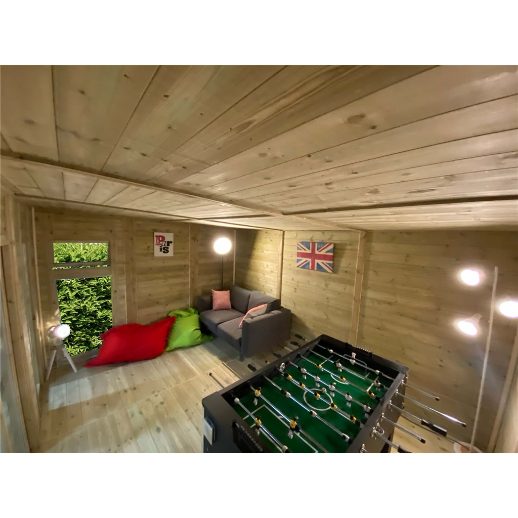 Avon 5m X 4m Insulated Garden Room Includes Free Install