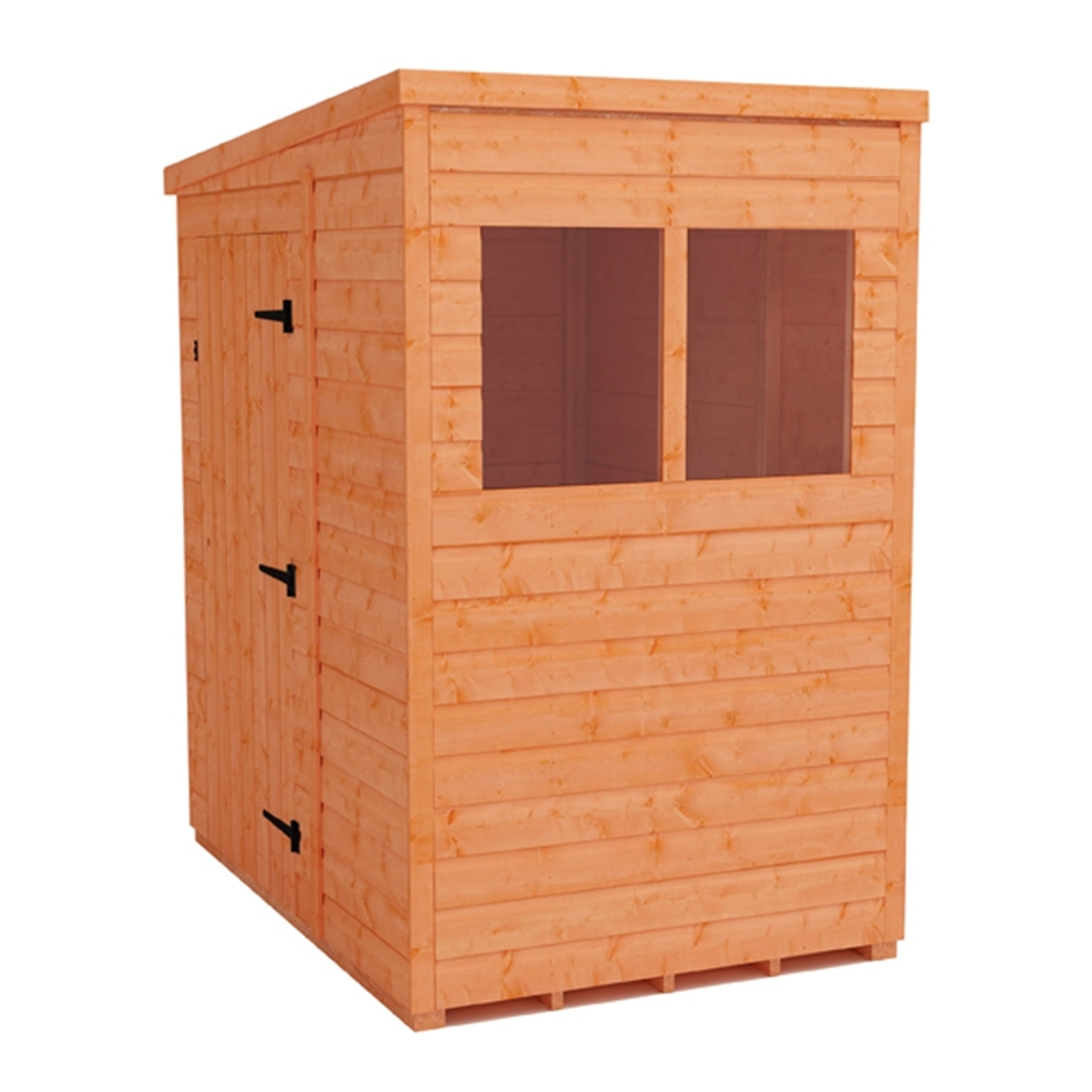 4 X 6 Tongue And Groove Pent Shed 12mm Tongue And Groove