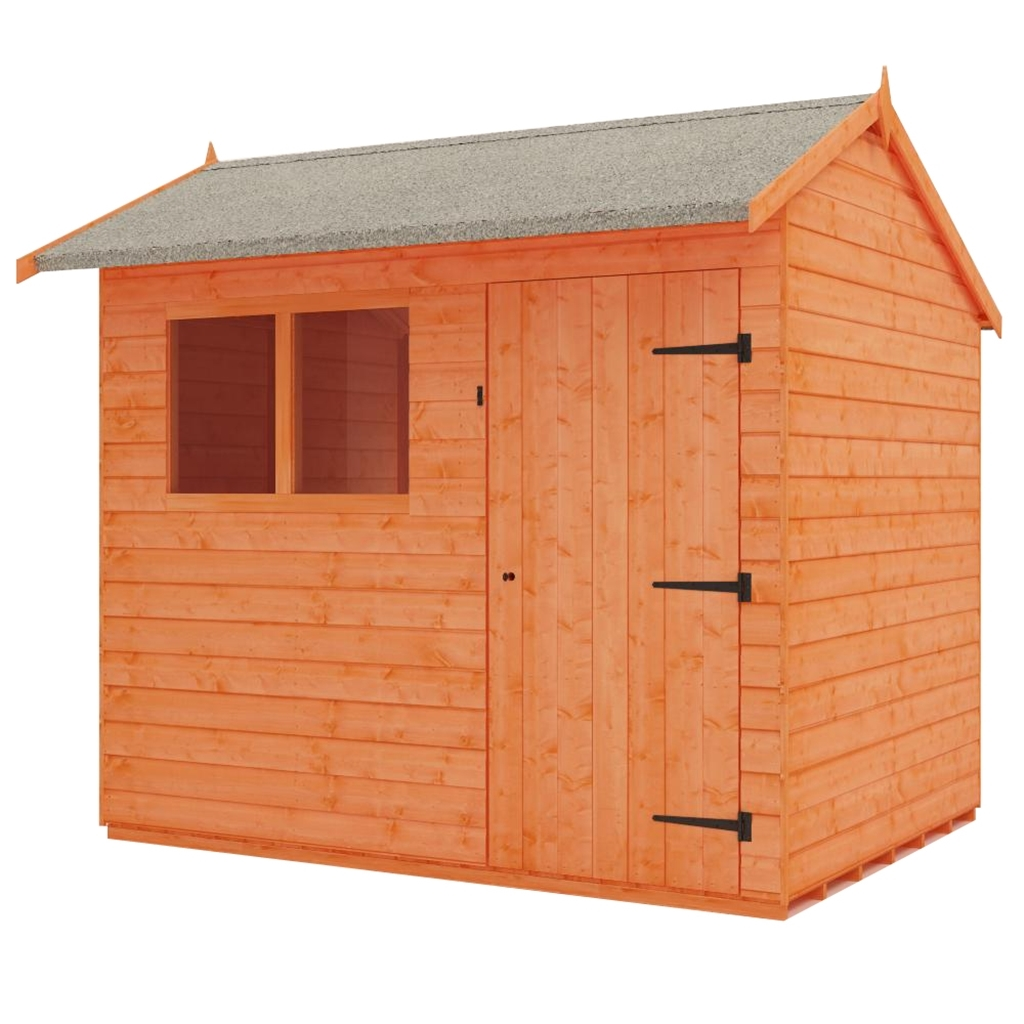 8 X 6 Reverse Tongue And Groove Shed 12mm Tongue And