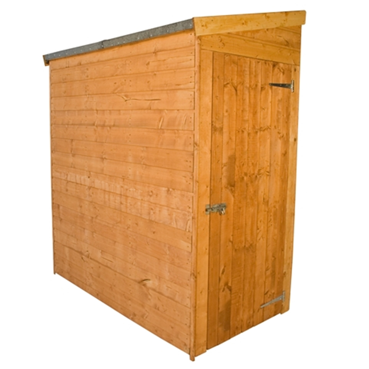 6 X 3 Tongue And Groove Tall Pent Shed No Front Doors