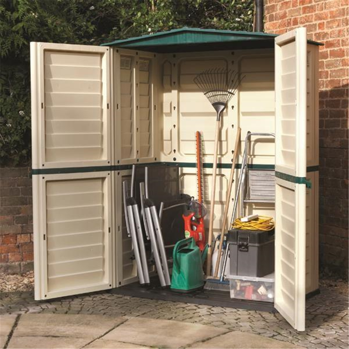 5 X 3 Plastic Tall Shed 1510mm X 830mm Shedsfirst