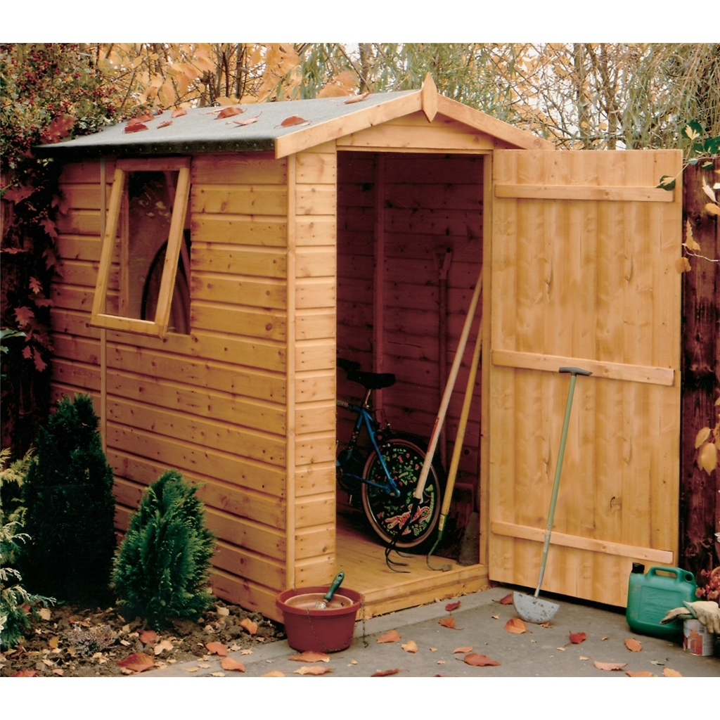 7 x 5 Tongue And Groove Apex Garden Shed / Workshop (12mm Tongue And ...