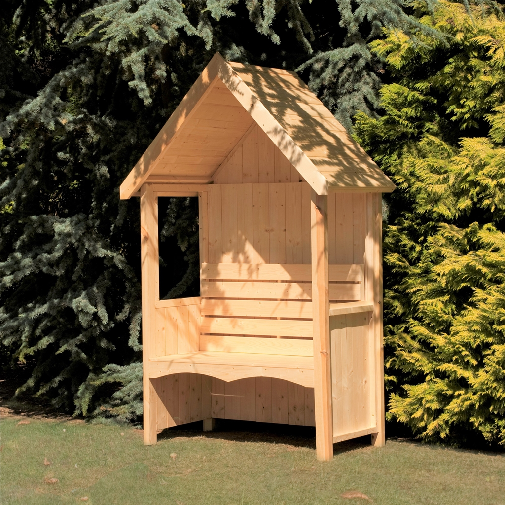 4ft X 2ft Seat Arbour Shedsfirst
