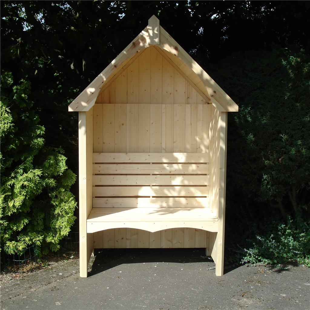 4ft 5 X 2ft 4 Seat Arbour Shedsfirst