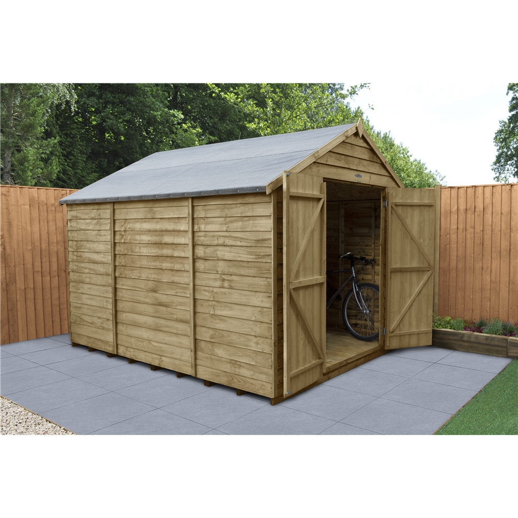 how to build an apex shed roof