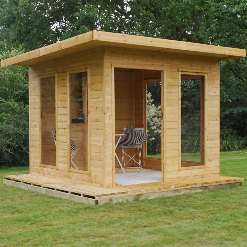 10 X 10 Cube Tongue And Groove Summerhouse Tongue And