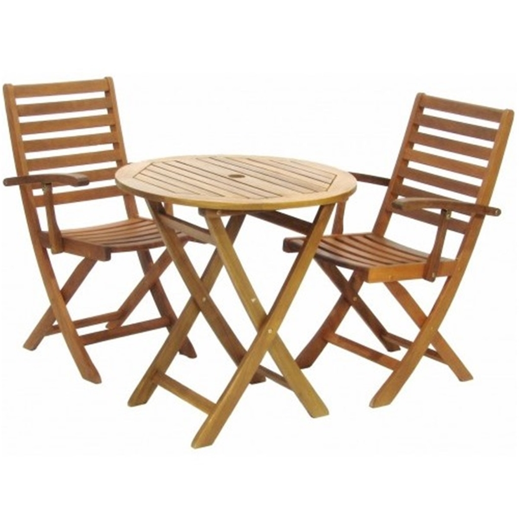 Garden Furniture York 2 seater - 3 piece - york bistro set with round table and 2