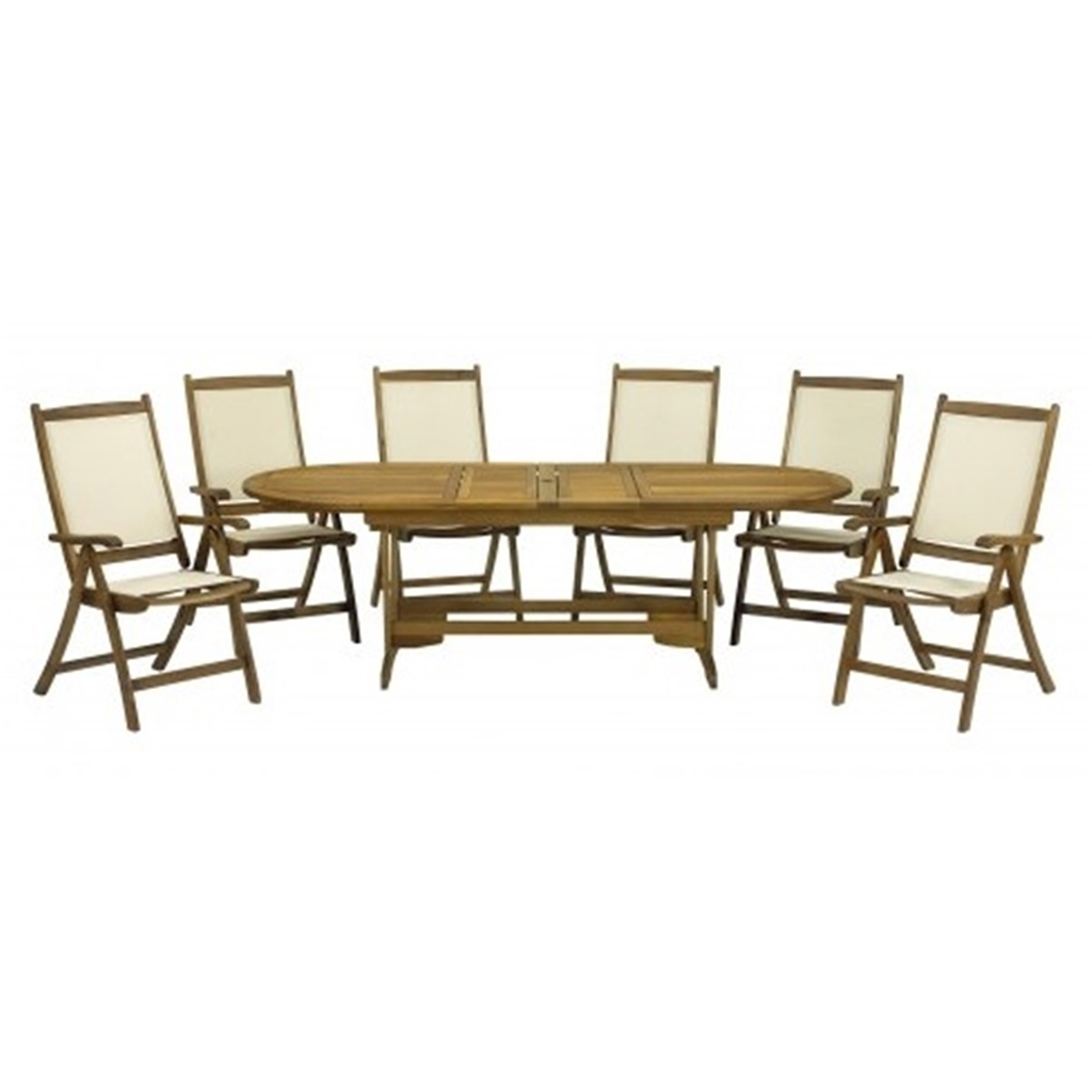 Seater piece edinburgh dining set with