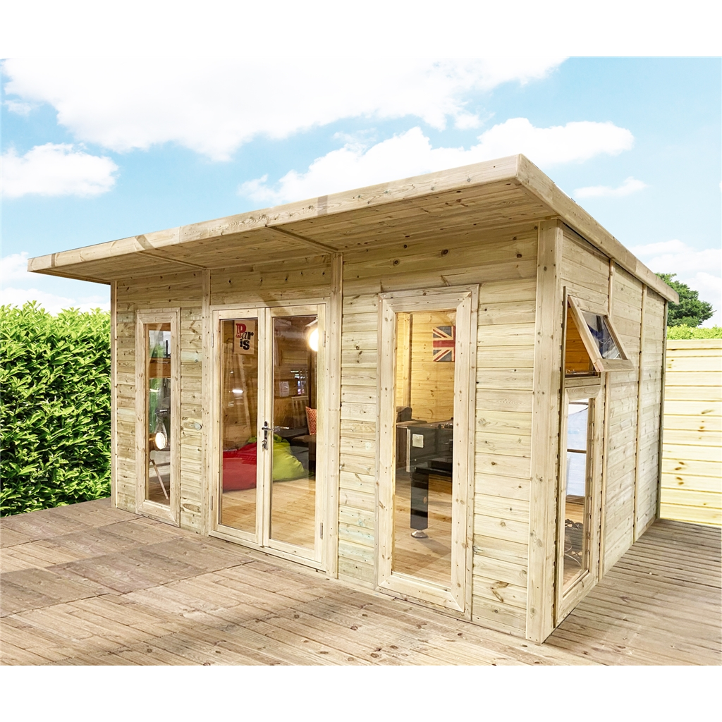 Avon 5m X 3m Insulated Garden Room Includes Free Install